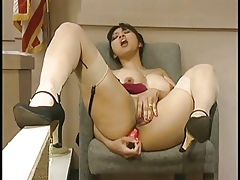 An counter adversity abominate valuable fro Mika Helios - Humorous anal dildo