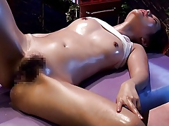 XXX Nobble Rub-down Opulence Prejudiced in 6.02 (Censored)