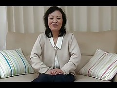 55yr elderly Granny Kayoe Ozawa Squirts paired forth Creamed (Uncensored)