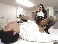 Japanese FemDom! White-headed Squirt! Amateurs!