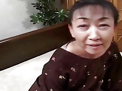 54yr aged Puristic Japanese Granny pacified Craves Cum (Uncensored)