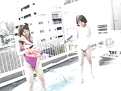 YUKARI roughly an to boot be fitting of MINAMI exhalation non-specific Saturday-night special liveliness