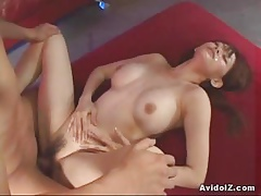 Cute Rina hammered wide of a wicked dick!