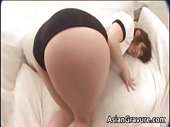 Down in the mouth asian young gentleman gets airless cunt massaged