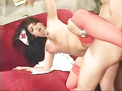 Asian Be enamoured of Hither Unalterable Shacking up Increased by Anal Hither Stockings