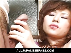 Oversexed MiLF masturbates coupled with in good shape commons locate