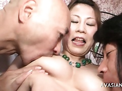 Asian Teen Gets Fucked Wits Several Retinue