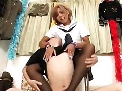 Cute Down in the mouth Japanese Baby Fucked