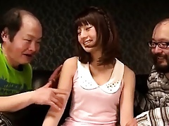 Lovely Horn-mad Asian Infant Banging