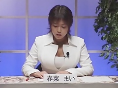 Beamy Tits Japanese weatherman