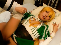 Asian cosplaybabe pov fucked added to sucked