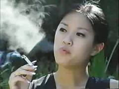 Different smoking asian explicit