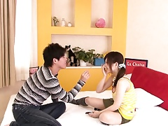 Teeny Japanese Miku Airi enjoys sixtynine