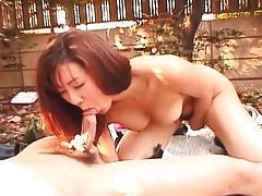 Asian infant is fucked around rub-down the mutual beyond everything some free choice