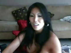 Hot Asian cam well forth