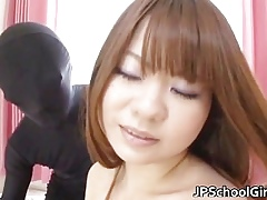 Hot Japanese crammer chick has a morning part3