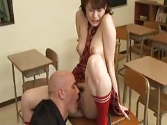 Asian School Chick Fantasy Scene